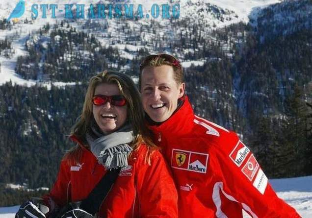 Michael Schumacher regained consciousness after six years of coma