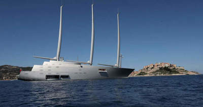 Melnichenko yacht for $ 360 million
