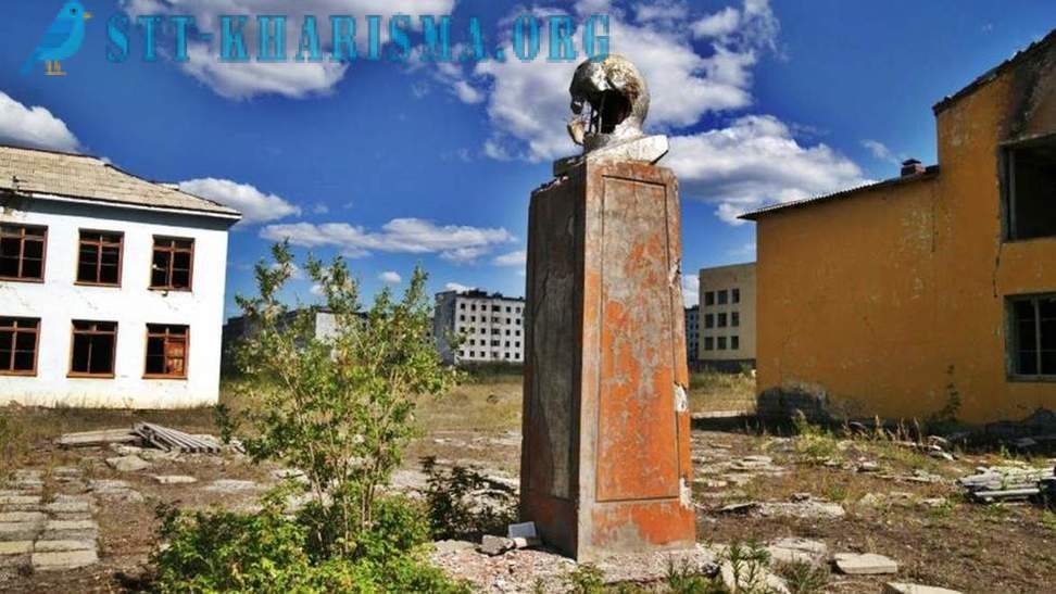 Abandoned Russian city