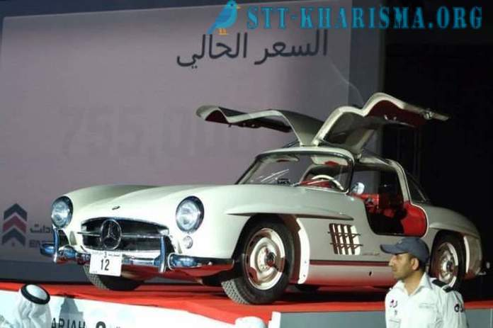 A businessman from the United Arab Emirates has paid three million dollars for the car number