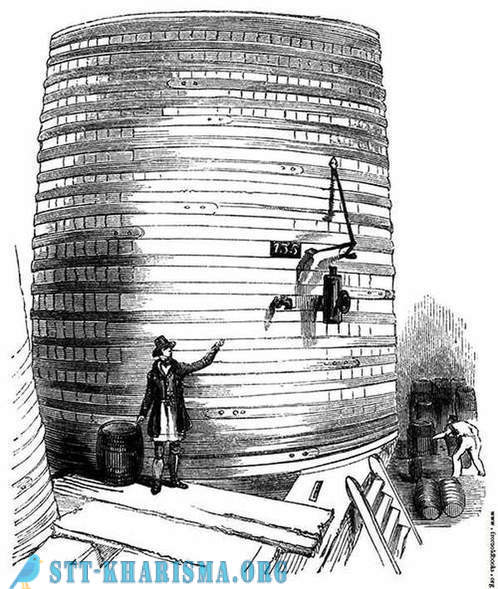 Beer tsunami in 1814 in London