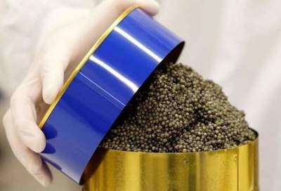 Production of caviar