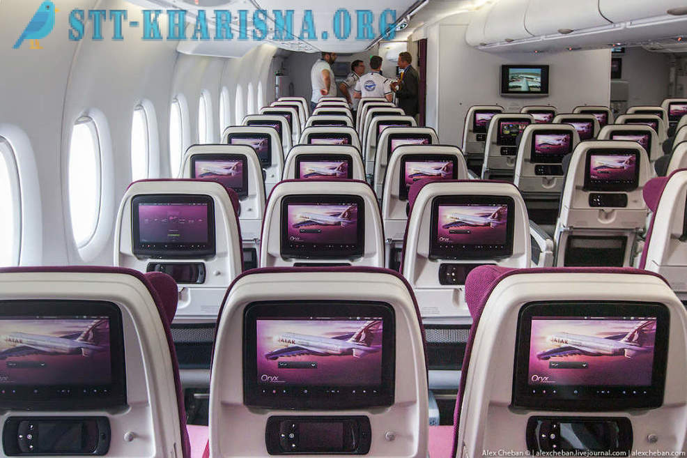 The best interior Airbus A380 aircraft