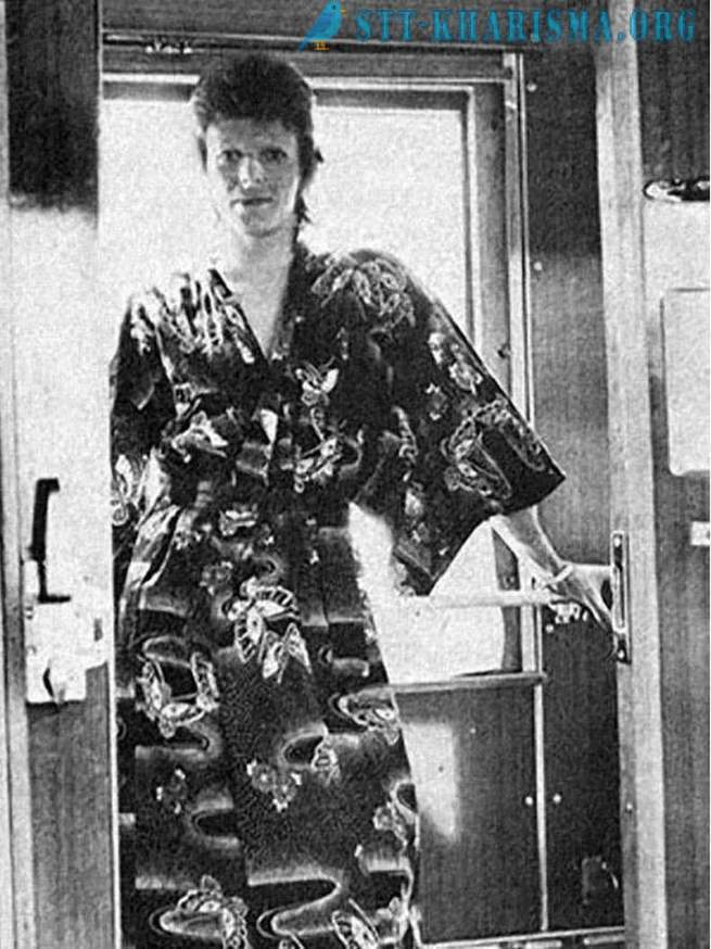 David Bowie traveled to the USSR