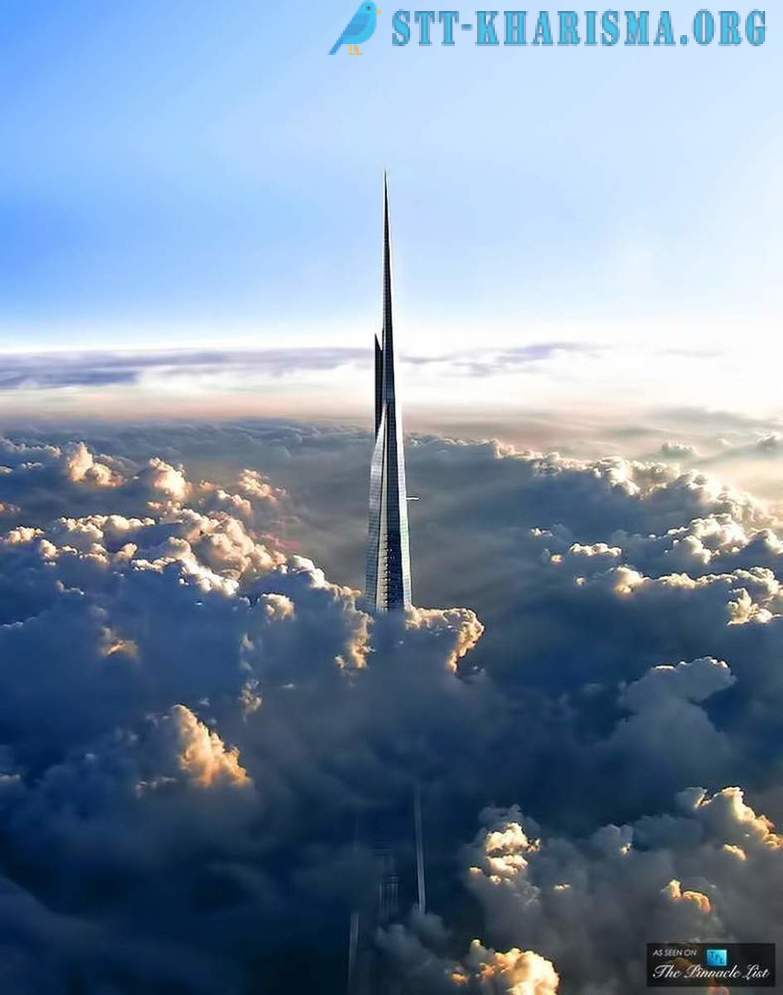 The highest observation deck of the world under construction