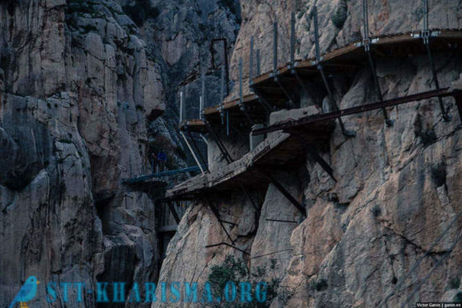 One of the most dangerous trails in the world