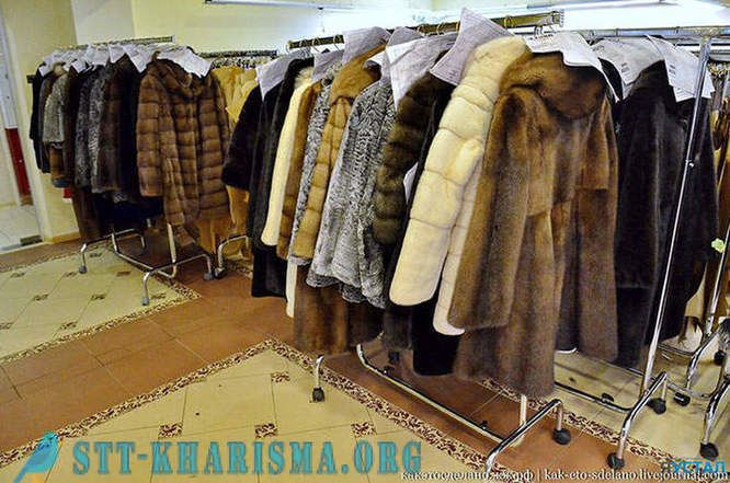 How to sew a fur coat