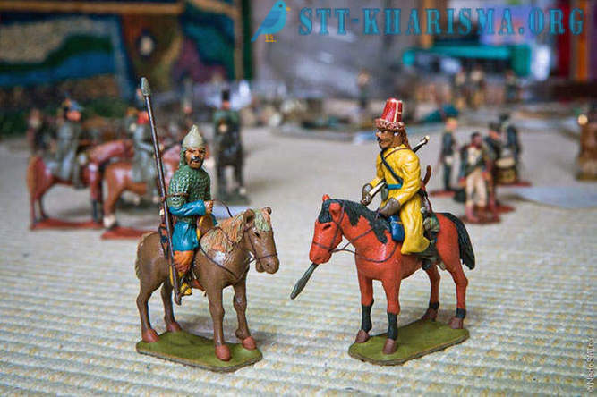 An amazing collection of clay soldiers