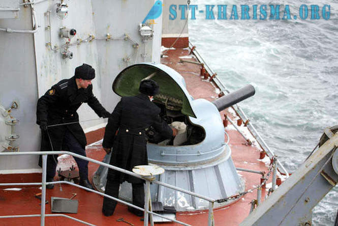 One day at the Northern Fleet's warships
