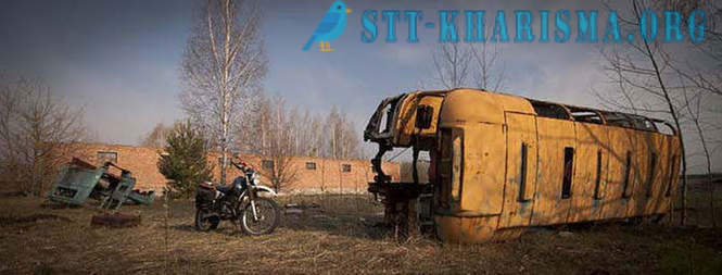 Two days on a motorcycle in the Chernobyl zone