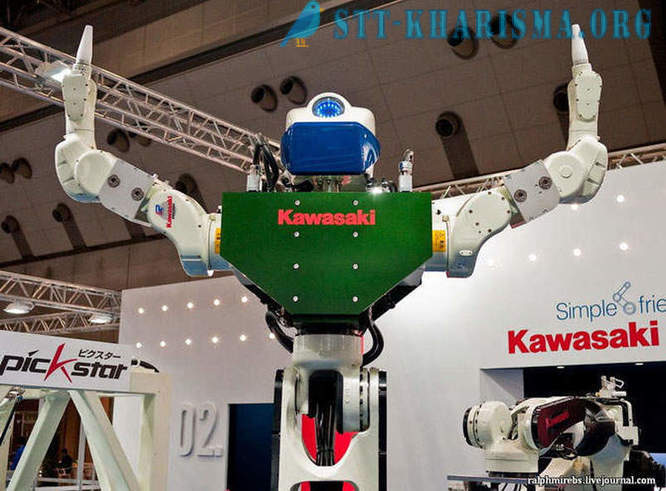 International exhibition of robots in Japan