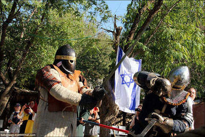 Joust in Jerusalem