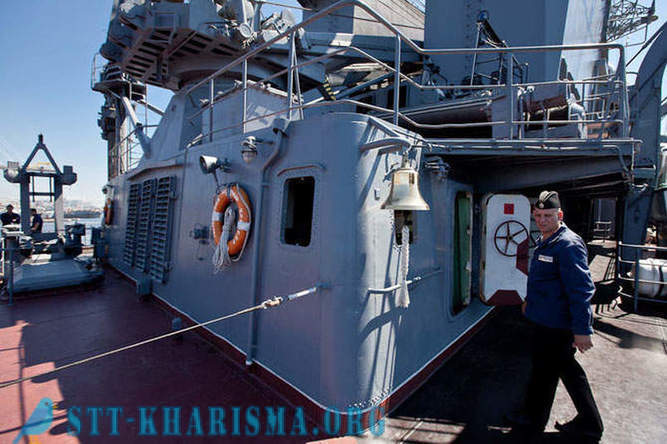 Excursion to the missile cruiser