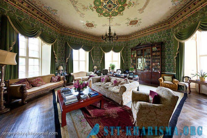 Beautiful interiors Irish castle