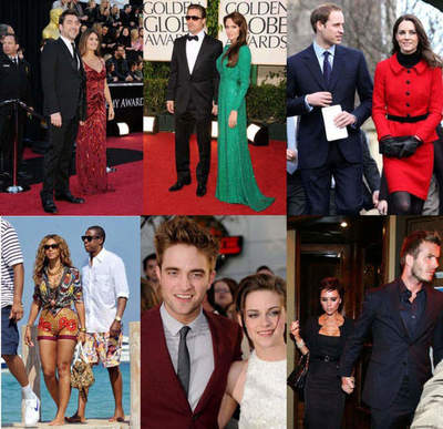 50 of the sexiest couples in 2011