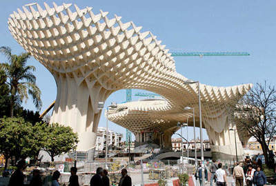 The largest structure made of wood